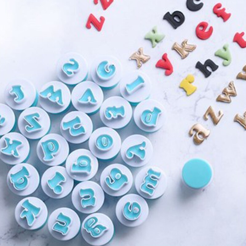 Moldes de impresión de pasteles yomdid, juego de moldes para números de alfabeto, moldes para hornear, molde para pasteles y galletas, utensilios de cocina de decoración para hornear, utensilios de cocina