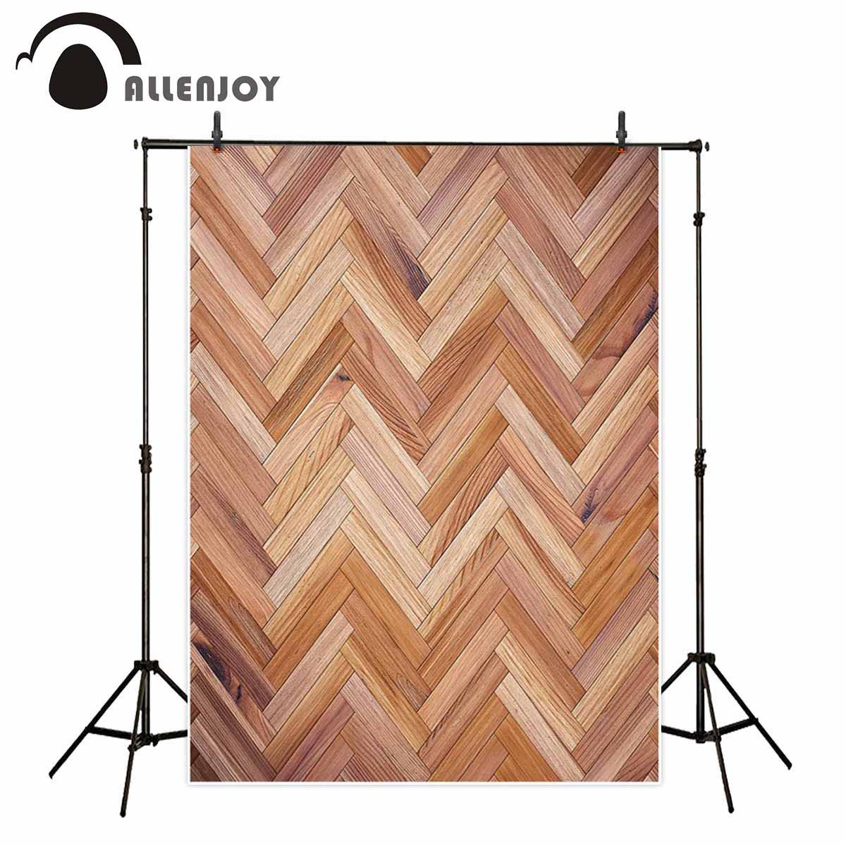 Allenjoy fondo sin fisuras textura de piso de madera espiga marrón claro foto telón de fondo fotografía Navidad photozone studio