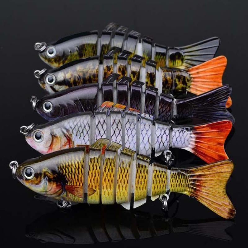 1 pçs iscas de pesca isco manivela ganchos baixo crankbaits tackle artficial duro isca pesca wobblers baixo falso peixe carpa gm