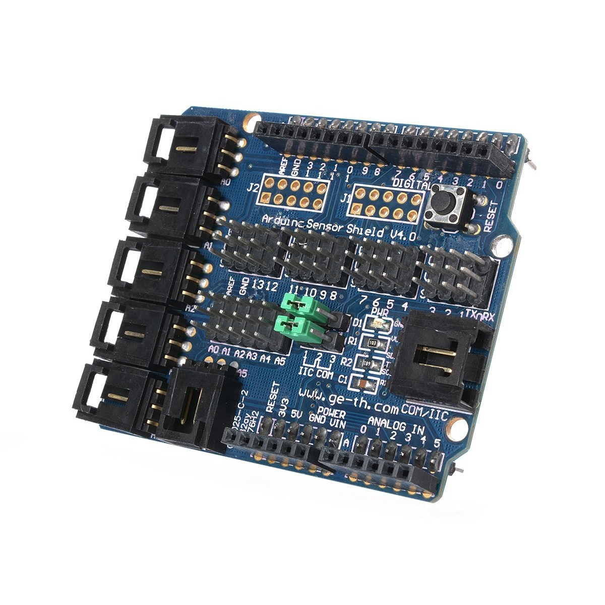 Для Arduino UNO MEGA Duemilanove Датчик Щит V4 цифро�