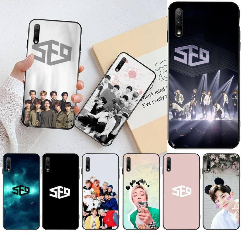 Cutewanan sf9 kpop coreano grupo menino macio caso de telefone capa para huawei nova 6se 7 7pro 7se honra 7a 8a 7c prime2019