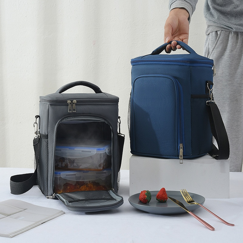 Thermal Backpack Waterproof Thickened Cooler Bag Large Insulated Picnic Handbag Refrigerator Suitable