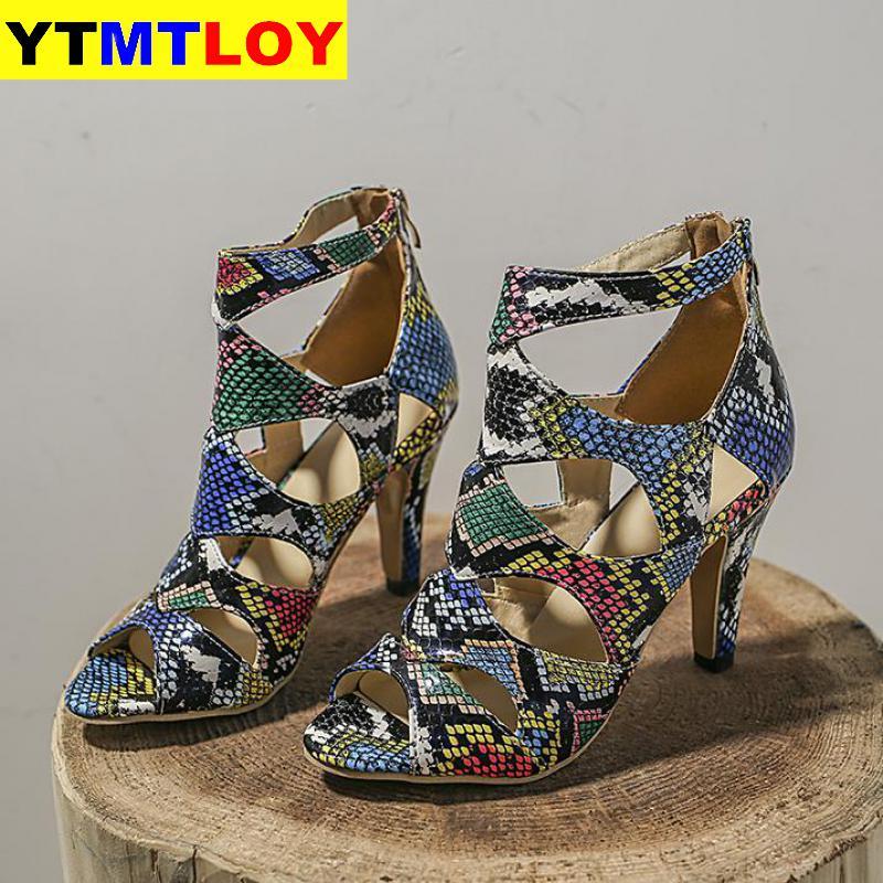 Женские летние босоножки, привлекательные изысканные туфли на высоком каблуке-шпильке с открытым носком и ремешком на щиколотке, туфли-лод...