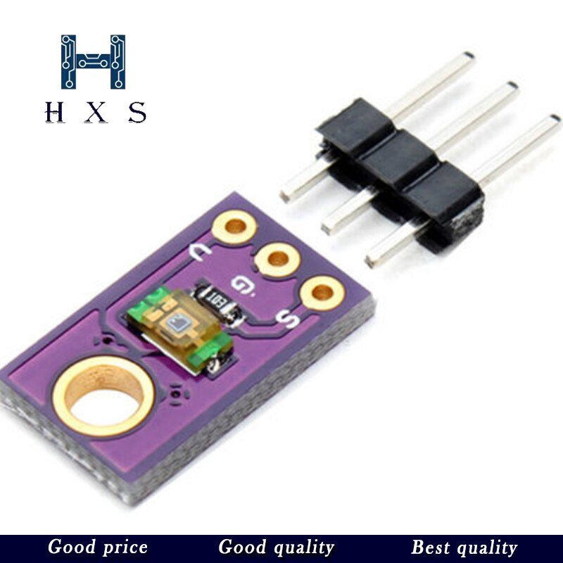 10 unids/lote TEMT6000 Sensor de luz profesional TEMT6000 Módulo Sensor de luz