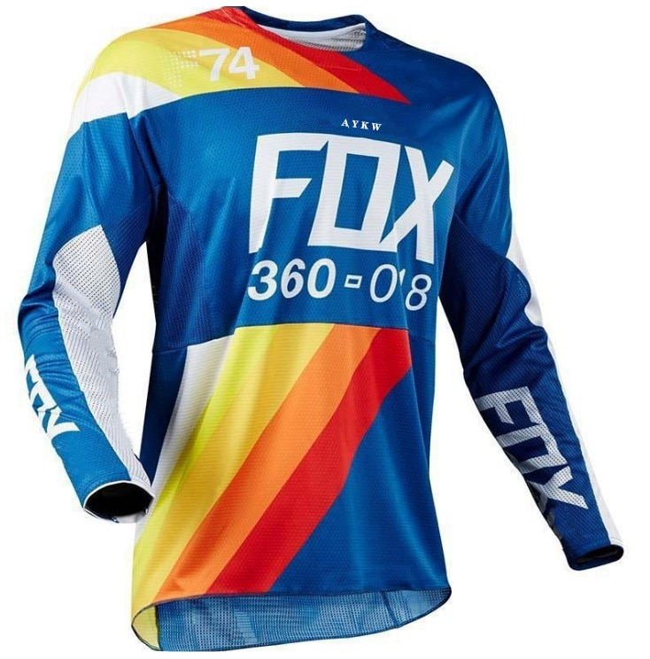 Jersey De Ciclismo De 2021 Maillot Motocross Fox Jersey Downhill Camisas Maillot...