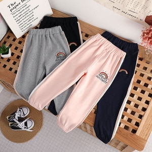 2-6 Years Children Boys Sports Pants Autumn Long Trousers Fashion Cotton Spring Pencil Pants For Kids Girls Bottom Clothes
