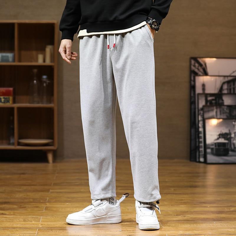Pants men's casual pants Korean fashion loose sports pants Wei pants Harlan men's pants fashion men clothing  streetwear men