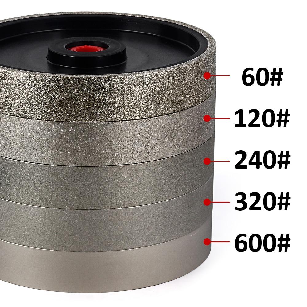 كاسافيردي عجلة طحن بتصميم ماسة قرص CBN طحن عجلات 150 مللي متر x 25 مللي متر لشحذ أدوات الصلب عالية السرعة