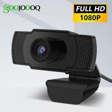 Caméra Web HD Webcam 1080P avec Microphone HD intégré 1920x1080 caméra Web USB grand écran vidéo