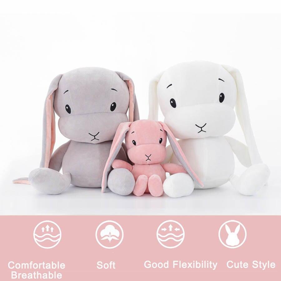 50 см 30 см милый кролик, детские плюшевые игрушки, кролик, мягкие плюшевые детские игрушки в виде животных, кукла Наби, игрушка для сна, подарк...