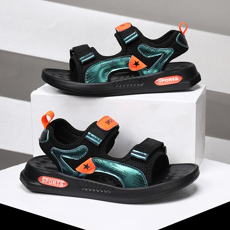 Summer Boys INS Trendy Casual Sandals, New Boys Outdoor Beach Shoes Sandals Children Sneakers