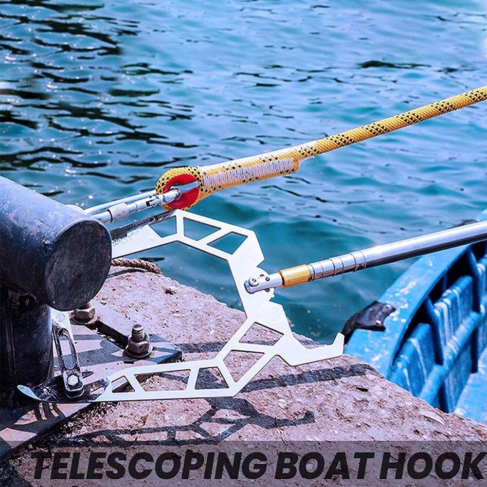 Крючок для лодки, легко растягиватель для лодки на большие расстояния, съемник для лодки, крючок для веревки, Многофункциональный Док-крючо...