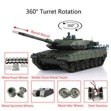 Henglong 1/16 TK 6.0S génération infrarouge Combat Leopard2A6 RTR RC réservoir 3889 baril recul pistes métalliques avec lien TH12772