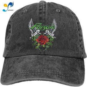 Poison - Thorns & Wings Cowboy Cap Baseball Hat Casquette Headgear