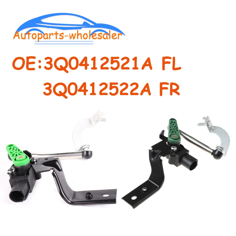 3Q0412521A 3Q0412522A frente Izquierda/para faro derecho Sensor de nivel para S koda Karoq Superb V olkswagen Arteon Passat, Seat Ateca