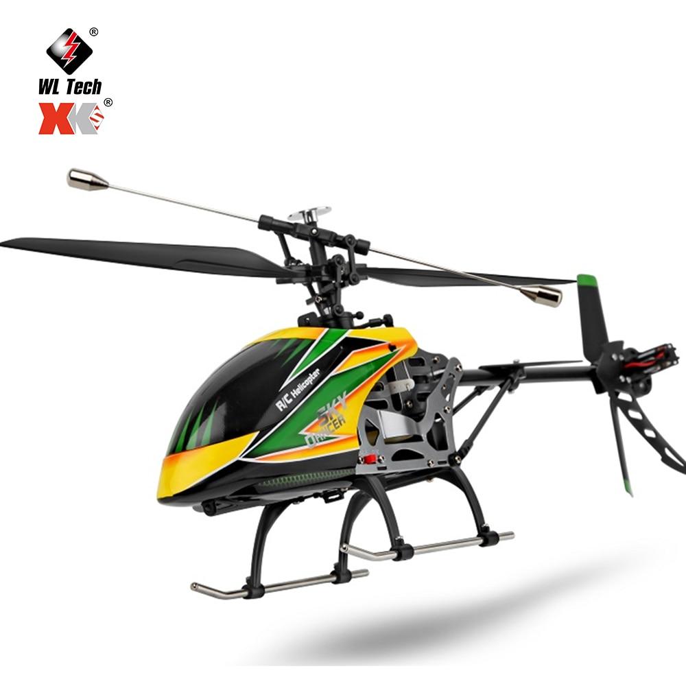 طائرة بدون طيار أصلية طراز WLtoys V912 4CH RC صغيرة 2.4G 6CH ثلاثية الأبعاد 6G بدون فرشاة RC هليكوبتر مع جيروسكوب BNF ألعاب تحكم عن بعد للأطفال هدايا