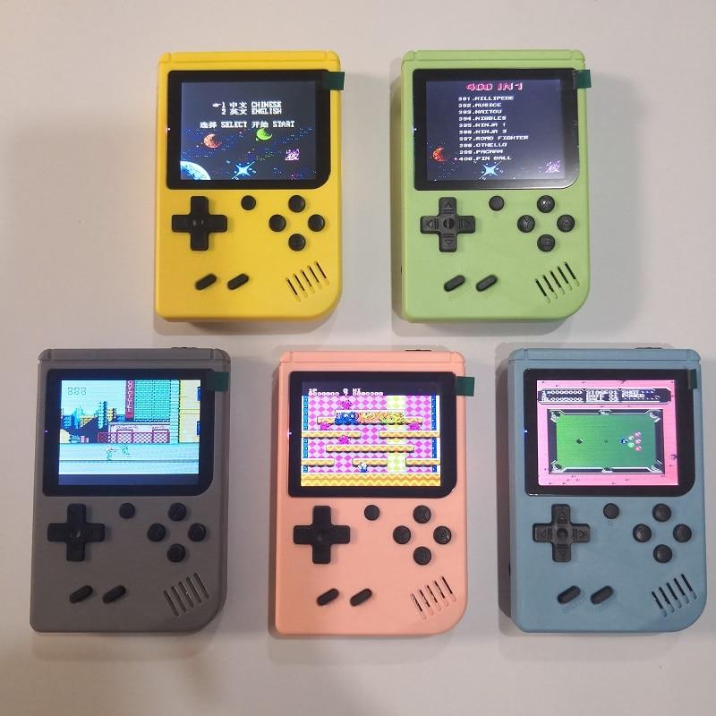 Карманный Детский игровой плеер 3,0 дюйма мини портативная игровая консоль 8 бит Ретро консоли ЖК видео игровые плееры для детей подарок для ...