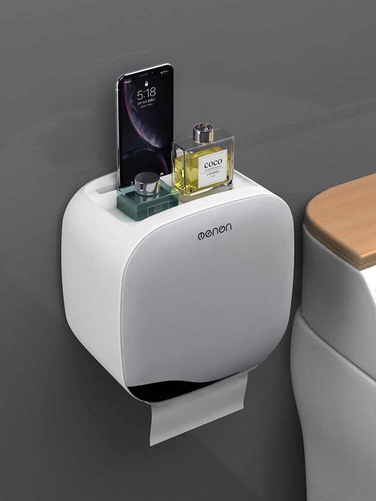 Creativity Toilet Paper Holders Waterproof Double Layer Toilet Paper Storage Moisture Proof Papier Toaletowy Home Storage DK50TP enlarge