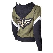 Game The Legend of Zelda Hoodie Game Cosplay Costume Anime Hoodie Black Sweatshirts Men Women College