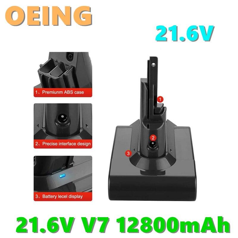 Baterías de iones de litio V7 para aspiradora Dyson V7, 21,6 V,...