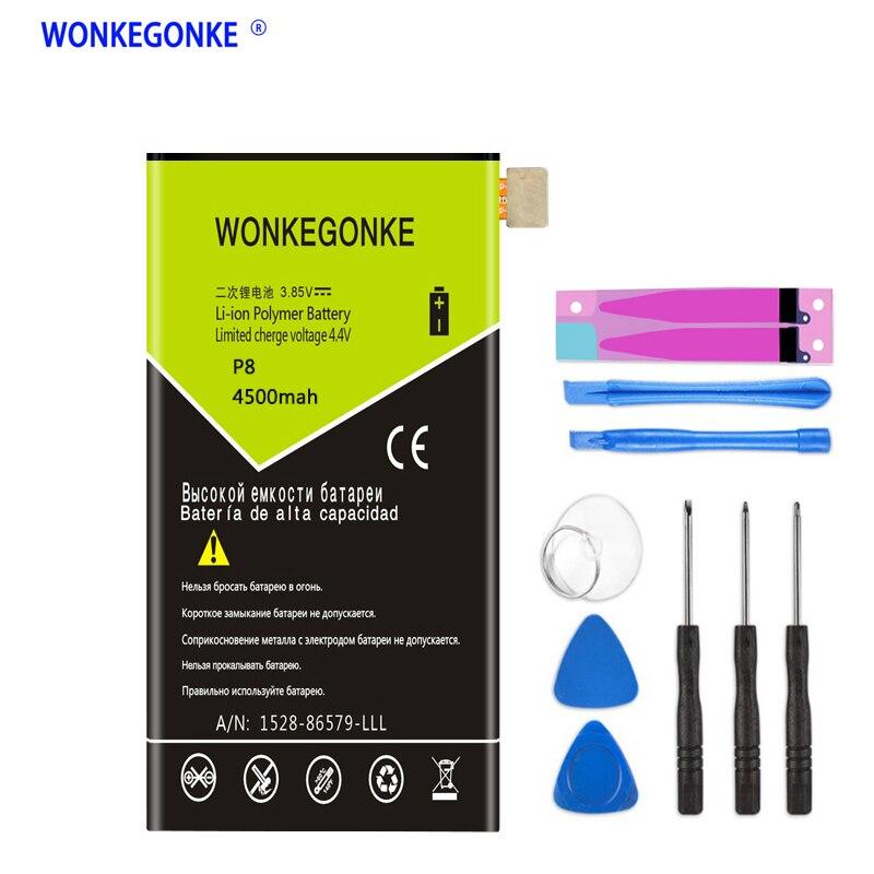 WONKEGONKE 4800 mAh HB3447A9EBW para Huawei Ascend P8 GRA-L09 GRA-UL00 GRA-UL10 batería