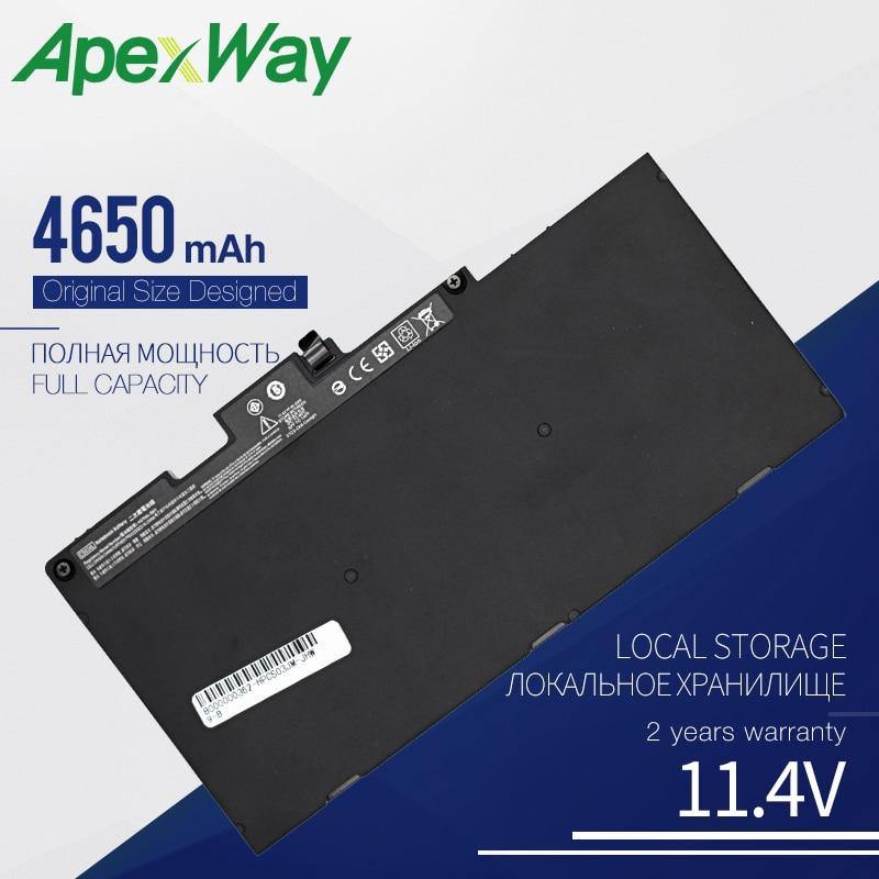 Apexway CS03 CS03XL Laptop Battery for HP Elitebook 745 G3 755 G3 G4 840 G3 for ZBook 15u G3 G4 HSTNN-IB6Y HSTNN-UB6S 800231-141