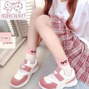 Japanese sweet lolita shoes high heel kawaii girl cosplay shoes comfortable college style jk uniform women shoes loli cos