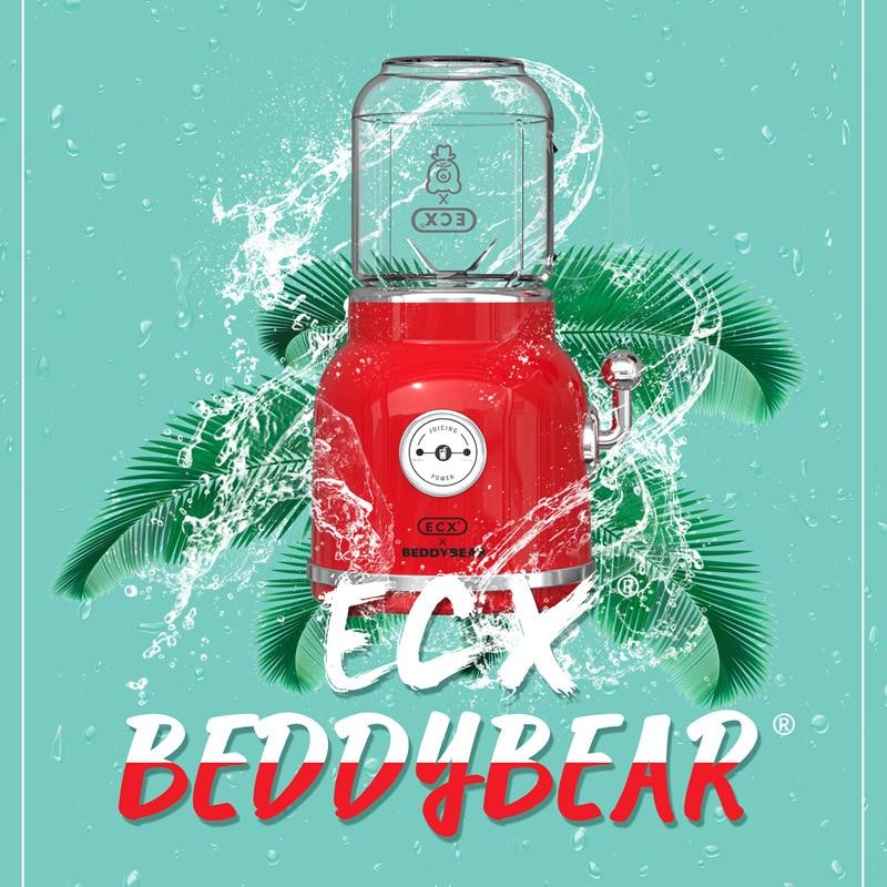 أصيلة كوب الدب عصارة المنزلية المكونات في عصير الآيس كريم آلة التلقائي الطبخ الفاكهة بومبيرباتيدورا الفردية ريكارغابل