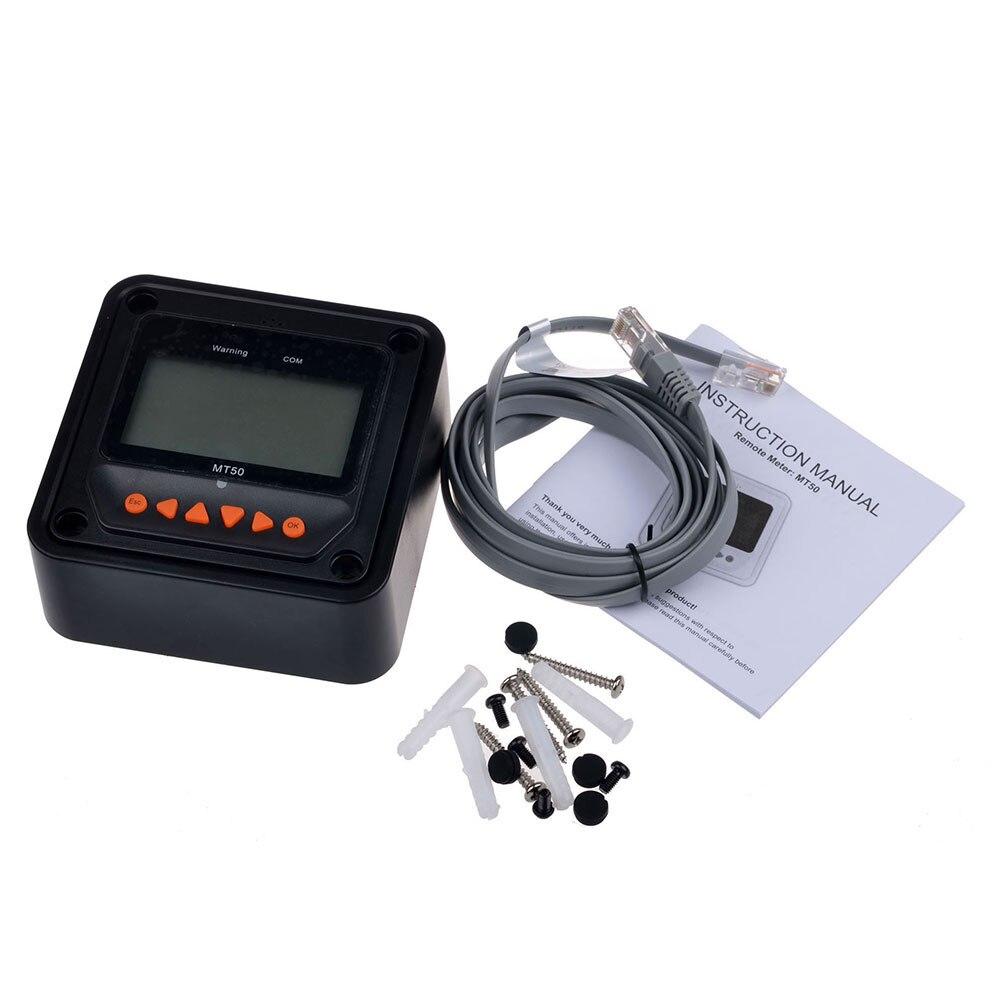 Grande-tela multifunction profissional display de cristal líquido mt50 gráfico regulador medidor remoto para tracer-um tracer-bn