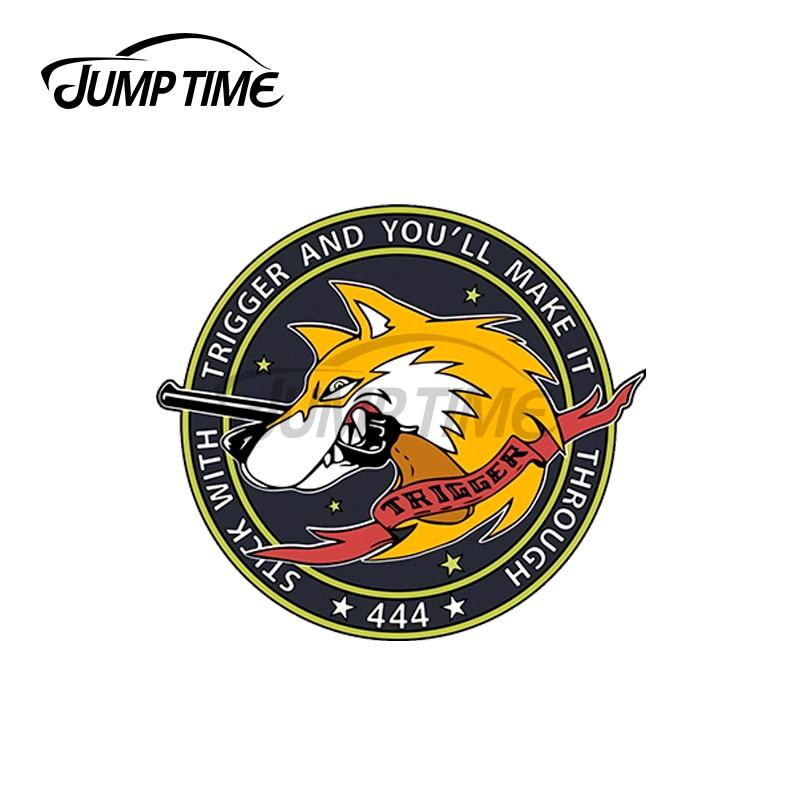 JumpTime 13x13x13cm Ace combate gatillo pegatinas de coche de moda calcomanía del...