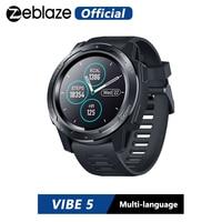 Zeblaze VIBE 5 IP67 Waterproof Heart Rate Long Battery Life Color Display Screen Multi-sports Modes Fitness Tracker Smart Watch
