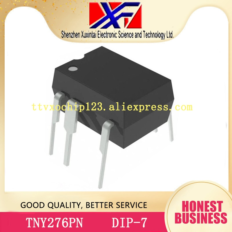 50 pçs/lote TNY276PN DIP7 TNY276 DIP original IC OFFLINE SWIT OVP OTP HV DIP-7