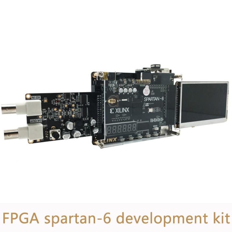 Kit de placa de desarrollo Xilinx Spartan 6 FPGA incluye Placa de desarrollo FPGA spartan 6 módulo AD/DA y TFT LCD de 4,3 pulgadas