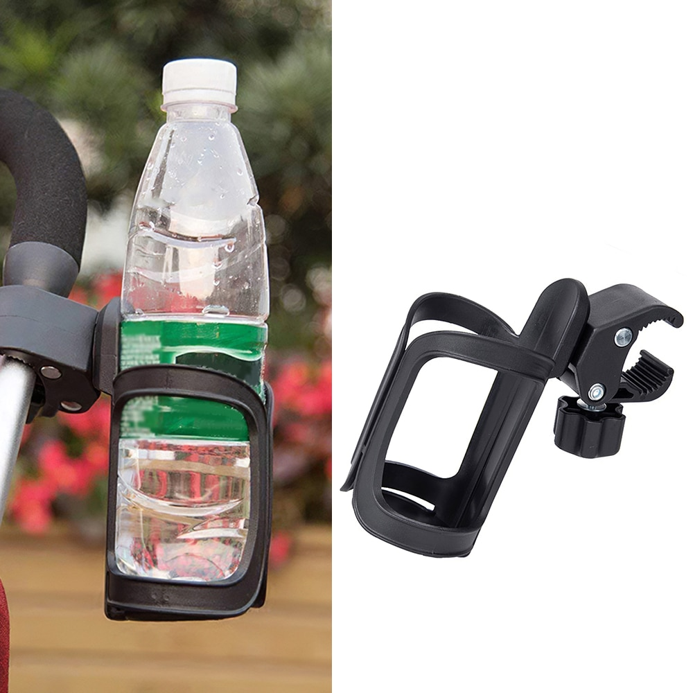 Baby Stroller Accessories Cup Holder for Pram Cart Bottle for Milk Water Pushchair Carriage Rotatabl