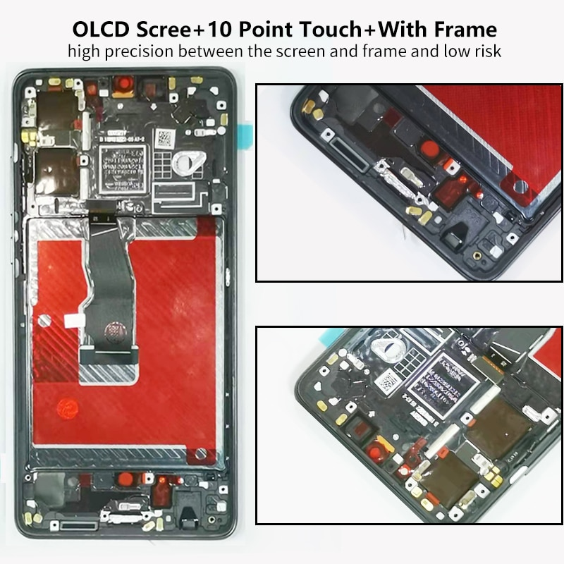 AMOLED Screen For Huawei P30 Lcd Display For Huawei P 30 Display With Frame Touch Screen Digitizer Replacement ELE-L29 Assembly enlarge