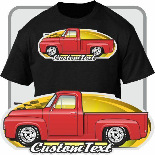 Художественная футболка на заказ для пикапа 1953 54 1955 F 100 F 250 Mercury F100 M 100