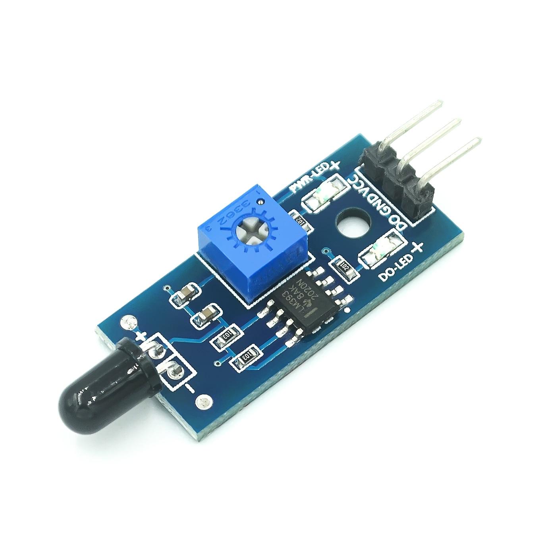 Módulo Sensor de llama IR Detector Smartsense para detección de temperatura conveniente al por mayor
