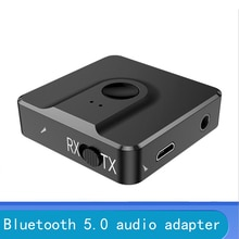 Bluetooth 5.0 Audio Receiver Transmitter AUX RCA 3.5MM 3.5 Jack USB Music Stereo Wireless Adapters D