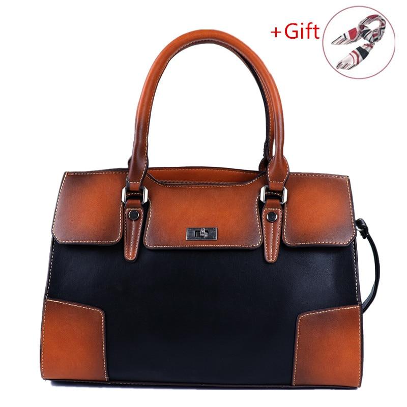 2019 New Fashion Women's Handbag Soft Leather High Capacity Bags Shoulder Lady's Messenger Bag Luxury Designer Crossbody Tote