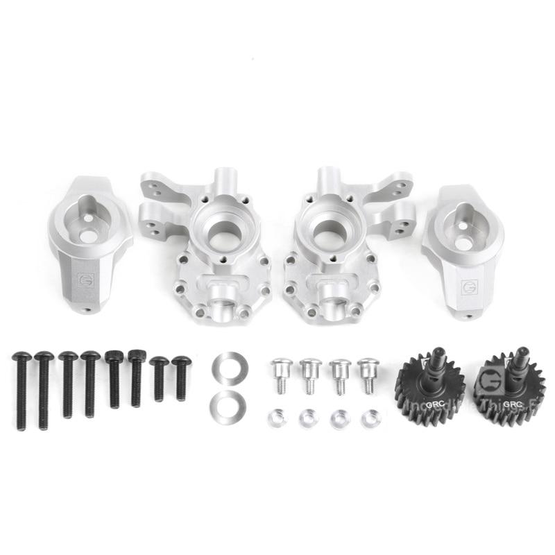 Metal steering kit Ackerman's kingpin sinks steering to seat C For 1/10 RC Crawler Car Traxxas TRX4 Defender G500 G63 Parts enlarge