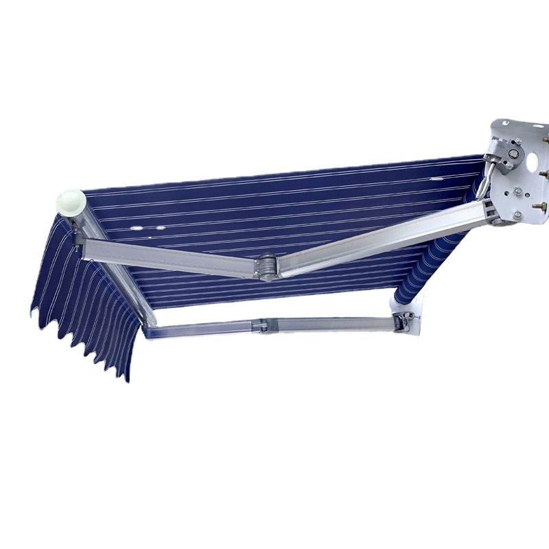Sunshade Folding Retractable Hand Electric Retractable Awning Balcony Outdoor Tarpaulin Courtyard Facade Awning
