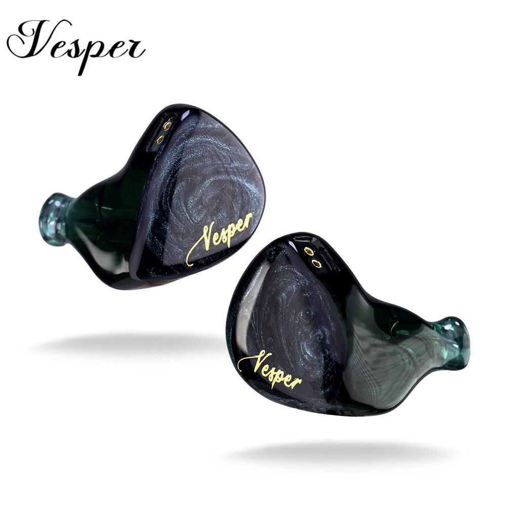 Kinera QOA-سماعات أذن Vesper 1BA 1DD ، داخل الأذن ، محرك هجين ، HIFI ، DJ ، مراقب ، سماعات QOA PINK LADY Kinera YH623