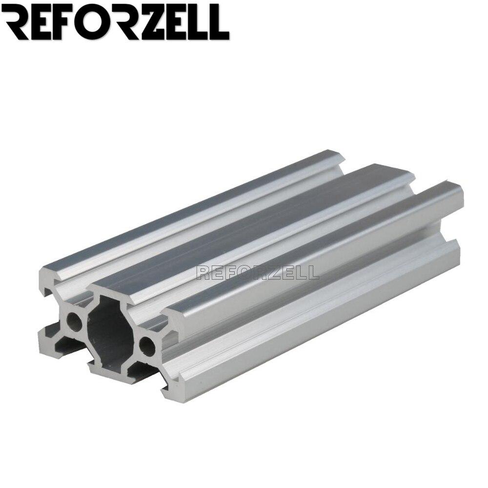 2040 بأكسيد السلس دون cratch Al6063 v-فتحة السكك الحديدية الألومنيوم الشخصي على لتقوم بها بنفسك طابعة ثلاثية الأبعاد وآلة الحفر