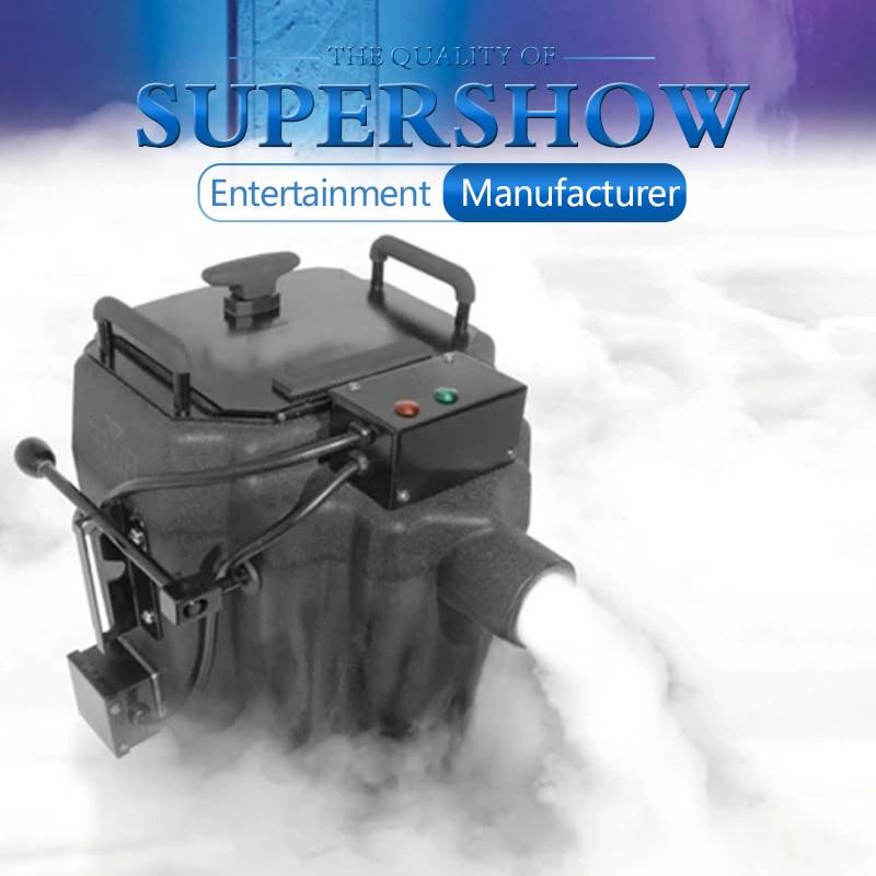 آلة ضباب الثلج الجاف ، 3500 واط ، حقيبة الطيران ، رذاذ الدخان النفاث ، أرضية منخفضة ، آلة Nimbus للمرحلة ، حفلات الزفاف ، شحن مجاني