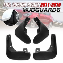 Garde-boue de voiture Suzuki Swift   Garde-boue de voiture, pour Suzuki Swift 2011 2012 2013 2014 2015 2016, bavettes de boue automobile, accessoires