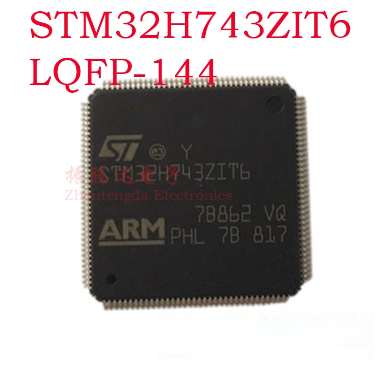 STM32H743ZIT6 STM STM32 STM32H STM32H743 STM32H743ZI LQFP-144 IC MCU