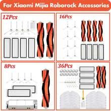 Hepa Filter Mop Rag Brush for Xiaomi Roborock 1S S50 S55 S5 Max S6MaxV S6 Accessories Robot Vacuum Cleaner Parts Vacuum 2