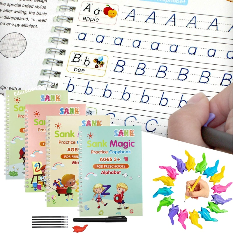 27-unids-set-magia-cuaderno-de-practica-para-copiar-gratis-los-ninos-libros-de-letra-reutilizable-por-escrito-de-pasta-para-la-caligrafia-de-montessori