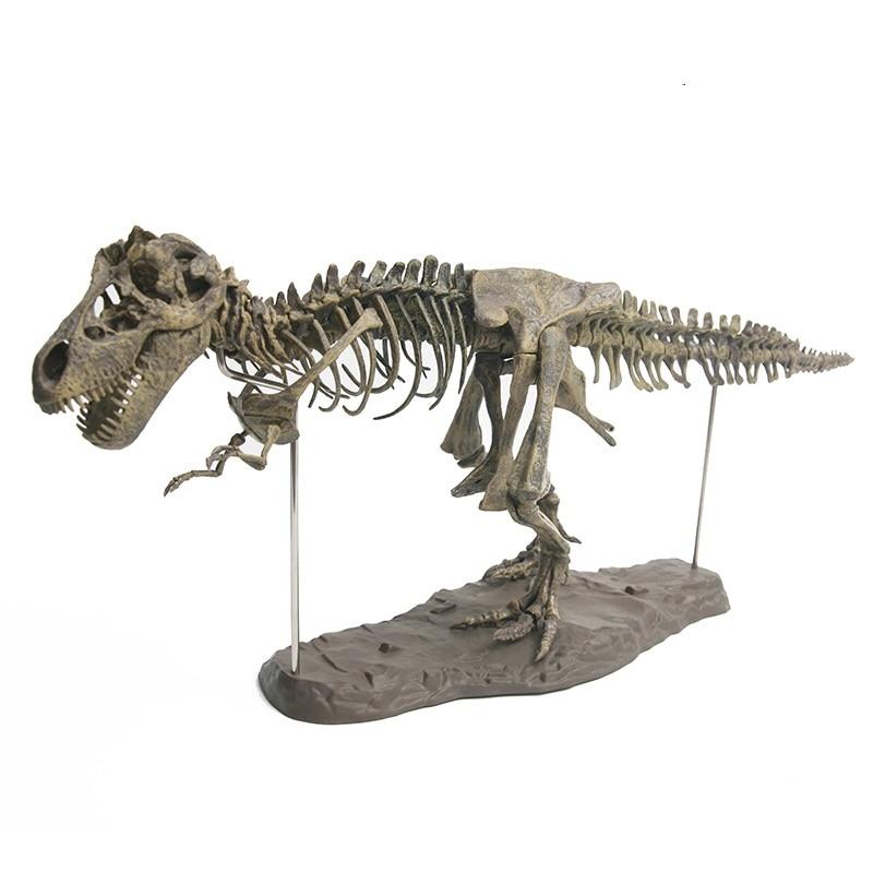 3D Simulation Dinosaur Skeleton Jigsaw Puzzle DIY Educational Model Building Kits Interesting STEM Toys For Children Tecnologia