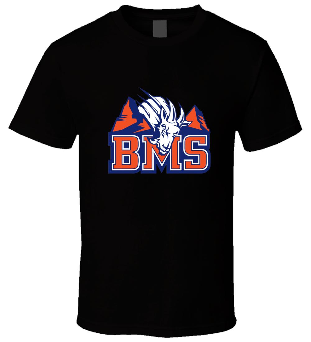BMS Blue Mountain State 5 nueva camiseta Cool Casual pride camiseta hombres Unisex nueva moda camiseta tamaño grande top ajax 2018 divertido